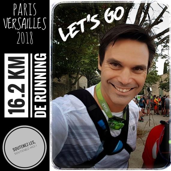 Paris Versailles 2018 avec le sourire pour le Rire !
