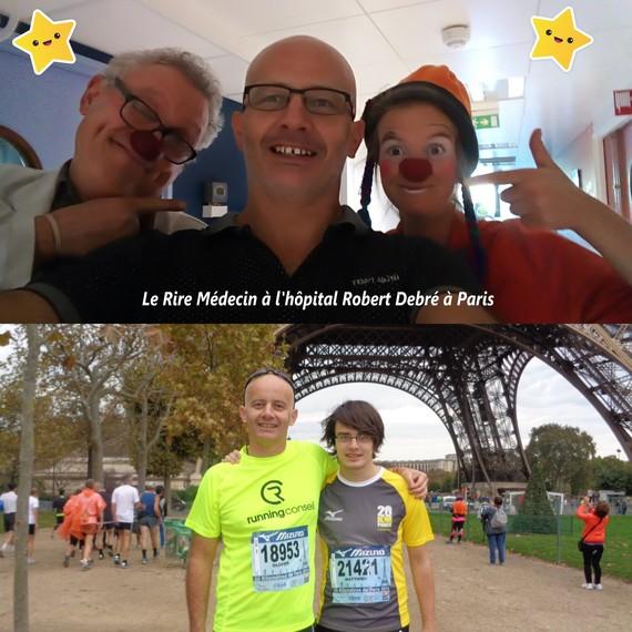 Courir les 20km de Paris pour le Rire Médecin