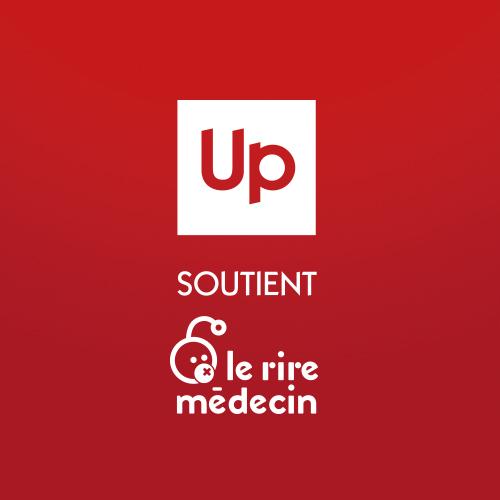 Up soutient Le Rire Médecin