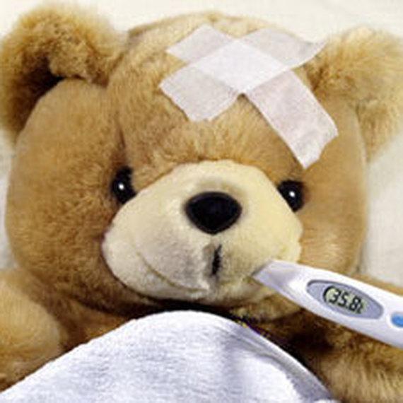 Enfant hospitalise