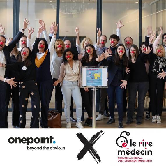 Onepoint | Offrir des sourires aux enfants malades, c'est possible !